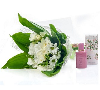 BOUQUET + PERFUME INDIAN JASMIN