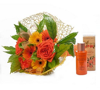 BOUQUET + PERFUME PORTOCAL AQUET